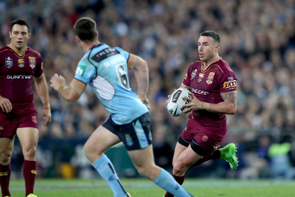 Darius Boyd successfully moved from fullback to centre.