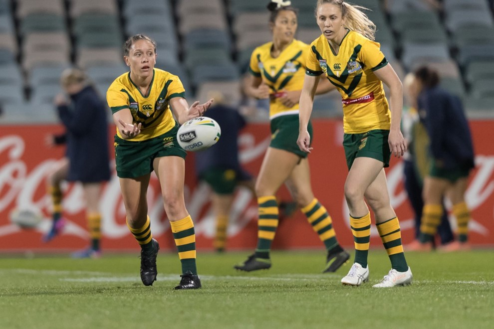 NRL Representitive Round - Jillaroos vs Ferns at GIO Stadium, Canberra, ACT, Australia on Friday 5 May 2017. Image by Ben Southall | NRLImagery.com
