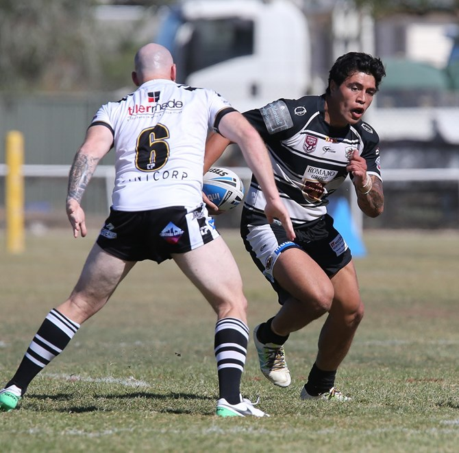 Lamar Manuel-Liolevave - Intrust Super Cup Round 20 - Souths Logan Magpies v Tweed Heads Seagulls at Kev Bannah Oval, Julia Creek. 2pm, Sunday, July 23, 2017.