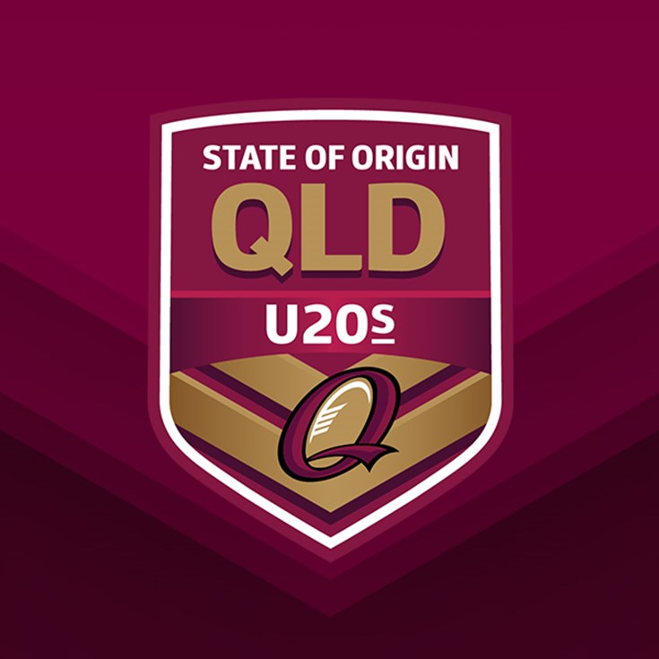 Queensland Under 20 team announced for 2019