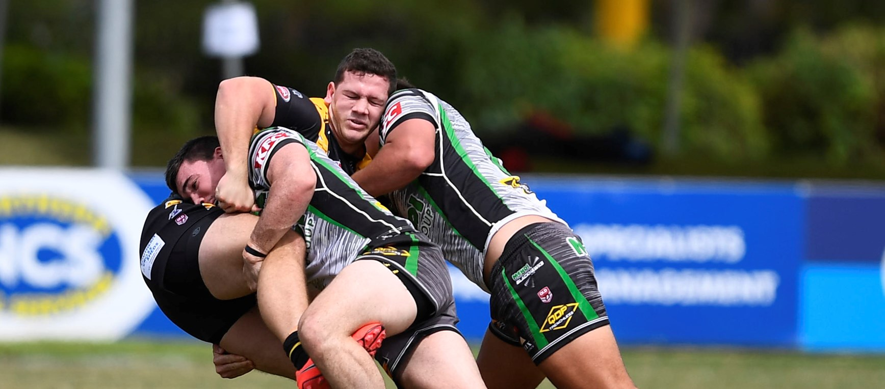In pictures: Townsville and Falcons face off in close match